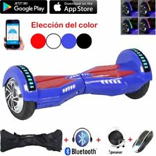 """6.5"""" LED Eléctrico Patinete Scooter Hoverboard Bluetooth Skate APP+ Mando"""