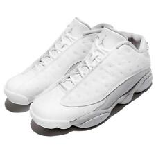 Nike Air Jordan 13 Retro Low XIII AJ13 Pure Money Platinum White Men 310810-100