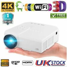 M3 Mini Portable Projector Screen 1080P HD Movies Projection Home Theater SD