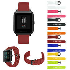 Silicone Band Strap For Xiaomi Huami Amazfit Bip Youth Smart Watch Replacement