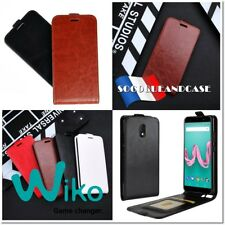 Etui coque Housse Premium PU Leather case Cover pour WIKO Lenny Sunny Jerry ...