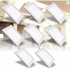 Bright Square LED Ceiling Down Light Panel Wall Kitchen Bathroom Lamp White UK