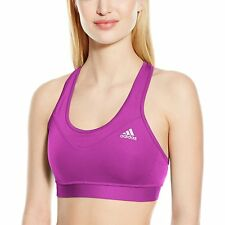 Adidas Womens Ladies Sports Climachill TF Solid Bra Top Gym Training Fitness