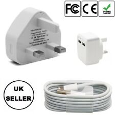 100%Genuine CE Charger Plug & USB Data Cable for Apple iPhone 5 6 7 8 & iPad 5 6