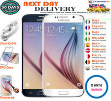 Samsung Galaxy S6 G920F 32GB Sapphire Gold Platinum White Blue Unlocked Phone