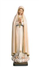Our Lady of Fatima statue wood carving