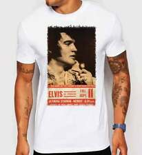 Elvis Presley Vintage Music Art Poster Official King Rock and Roll T-shirt