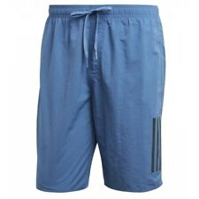 Adidas 3 stripes water swim short - Blue (Traroy/Carbon)