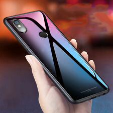 Luxury Tempered Glass Cover Hard Back Case Cover For Xiaomi Redmi Mi Y2