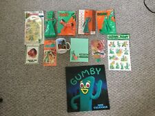 VINTAGE Lot Of 12 GUMBY Items