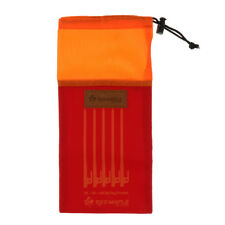 Outdoor Camping Portable Tent Peg Nails Stake Storage Pouch Hammer