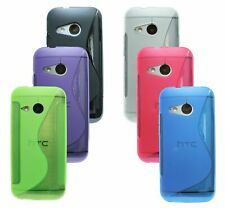 Gel Custodia protettiva in silicone ACCESSORI PER HTC ONE MINI 2 (M8 MINI) @