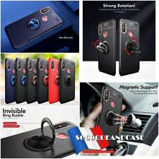 Coque housse Etui magnétique Finger Ring Kickstand Cover Case XIAOMI All models