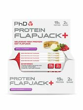 PhD Protein Flapjacks 6 x 75g High Protein Flapjack Best Before 03/2018 Last One