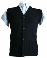 Mens Button Up Cardigans Smart Casual Wear Excellent Quality Colours Navy, Light