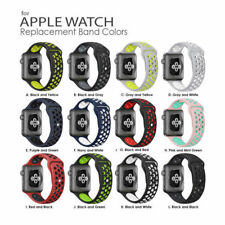 Replacement Silicone Sport Bracelet Strap For Apple Watch Band Series 3 / 2 / 1