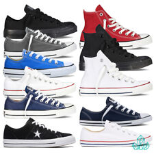 New Converse Trainers Sneakers Shoes Chuck Taylor Canvas One Star Suede Hi Lo