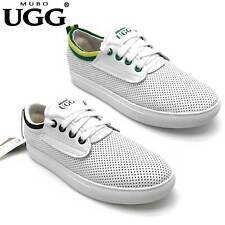 UGG Classical White Color Comfortable Breathable Flat Shoes Sneakers SN1622