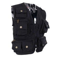 Mesh Fly Fishing Vest Hunting Jacket Outdoor Vest Multi Pocket Gilet Work