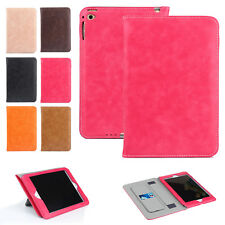 Luxury Leather Wallet Smart Folio Stand Case Cover for iPad 234/Air/Mini/Pro 9.7