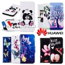 Etui coque housse XLCOLORS Leather case cover Huawei Y5 (2018) Honor 10 P Smart+