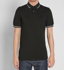 Fred Perry Mens Twin Tipped Polo Shirt  Short Sleeved Top M3600-D44