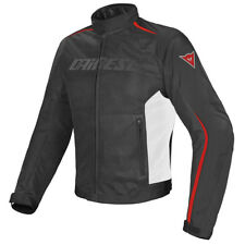 GIACCA DAINESE HYDRA FLUX D-DRY JACKET BLACK/WHITE/RED - 1654575 858