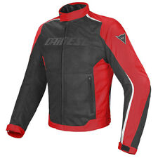 GIACCA DAINESE HYDRA FLUX D-DRY JACKET BLACK / RED / WHITE - 1654575 678