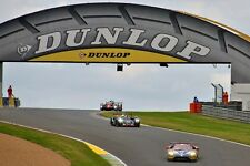 Ford GT no68 and a Gibson 0155-Nissan no42 Le Mans 24Hours photo picture poster