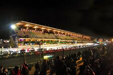 Motor racing action at 24Hours of Le Mans 2016 photograph picture poster print