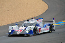 Toyota TS040-Hybrid Le Mans 24 Hours 2015 photograph picture poster print photo