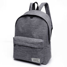 Bacisco Canvas Backpack Women Men Large Capacity Laptop Backpack Student School