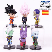 Figuras Dragon Ball Super Ultra Instint (Lote 6 Figuras) + Camiseta REGALO