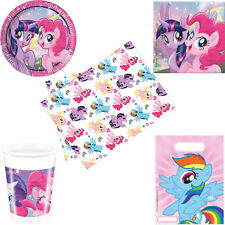 My Little Pony Birthday Party Tableware Tablecover Napkins Plates Cups Party Bag