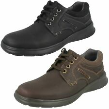 Mens Clarks Casual Shoes 'Cotrell Plain'