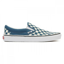 Vans Mens / Womens Corsair / True White Checkerboard Classic Slip On Trainers