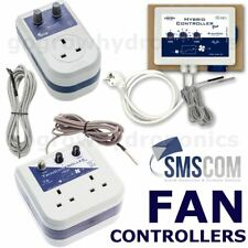 SMSCOM Twin / Hybrid Fan Controllers, Thermostat & Tempetaure Sensor Probe