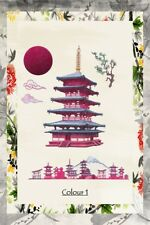 Tattd Lace EAST MEETS WEST Shibui Temple 4/8 Die Cut Sets Single/Mixed FREE P&P!
