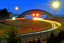 Motor racing action Le Mans 24Hours 2015 photograph picture poster print photo
