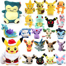 POKEMON GO Pikachu Squirtle UMBREON PELUCHE MORBIDO Fun Toy TENERO ORSACCHIOTTO