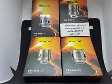 3 RESISTANCES Smoktech SMOK TFV8 BABY X, x baby beast brother coil Q2/M2/X4/T6