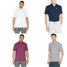 Under Armour Charged Cotton Scramble Polo, Maglietta A Maniche Corte Uomo - NUOV