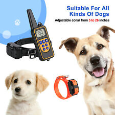 Dog Shock Collar With Remote Waterproof Electric For Large 875 Yard Pet Training