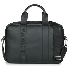 Borsa porta documenti uomo Emporio Armani  WEBBING TWO ZIP BRIEFCASE   7713300