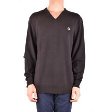 bx33710 Fred Perry maglione marrone uomo man's brown sweater