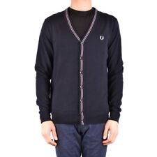 bx33707 Fred Perry cardigan blu uomo man's blue cardigan