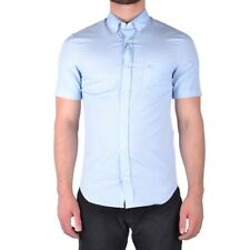 bx32235 Burberry camicia azzurro uomo light blue man's shirt