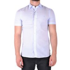 bx32233 Burberry camicia azzurro uomo light blue man's shirt