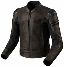 REV'IT! Akira Vintage Air (brown) Leather Motorbike Jacket - FJL0770780M