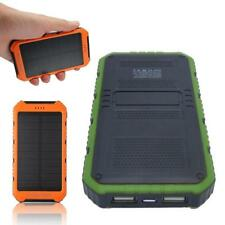 Mejor 18000mAh panel solar 1a 2A bateria Power Bank Cargador de portatil OE